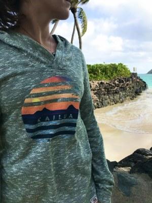 Kailua Sweater Stripes Mokulua Lanikai