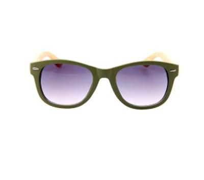 Sunglasses Bamboo Temple  Arbutus Green