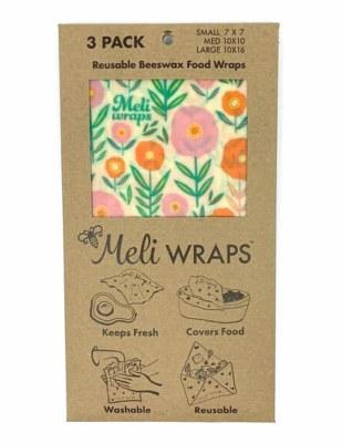 Meli Wrap New Bloom 3pk