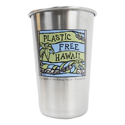 Plastic Free Hawaii Stainless Steel Cup