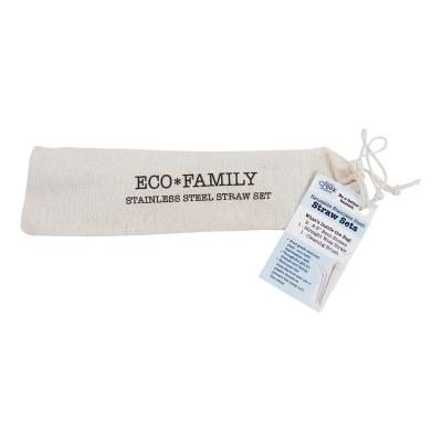 Straw Set Eco Family