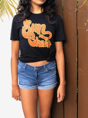 Tee Sun Chaser Blk XXL