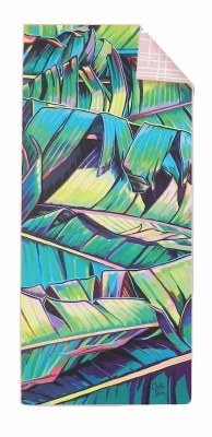 Surfer Towel Palm Shadows