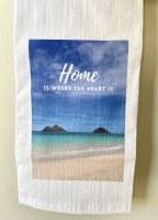 Towel Home Is Where Heart