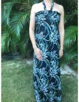 Dress Maxi Maxim Black Narcissus