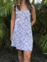 Anything Dress Tropicana Black White