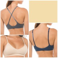Bralette Convertible Strap Padded Off White