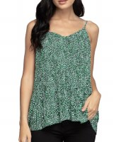 Tank Pleat Green SM