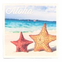 Coaster Ceramic Aloha Starfish