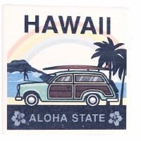 Coaster Ceramic Hawaii Woody Surf