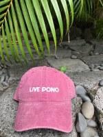 Dad Cap Live Pono