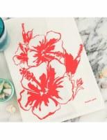 Tea Towel Hibiscus
