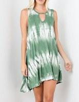 Bamboo Dress Green TD SM