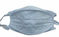 Face Mask 3d Tencel Pastel Blue