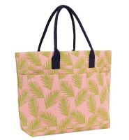 Beach Tote Palm Fronds Cotton