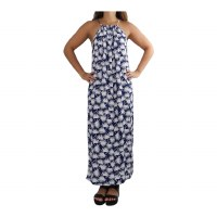 Maxi Dress Kai Palm Navy