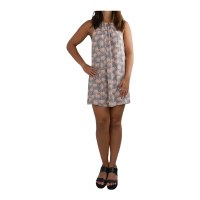 Dress Nadia Palm Grey Peach