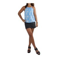 Top Nalu Orchid Light Blue