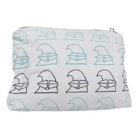 Jack Johnson Surf Aloha Medium Zip Pouch