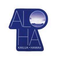 Kailua Sticker ALO-HA Lanikai