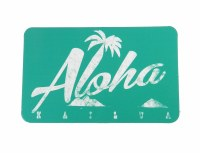 Kailua Sticker Aloha Palm
