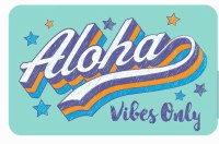 Kailua Sticker Aloha Vibes Only