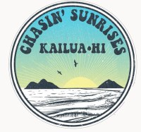 Kailua Sticker Chasin Sunrises Mokulua Laniaki