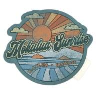 Groovy Mokulua Sunrise Sticker