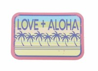 Kailua Sticker 'Ohana Palm Love and Aloha
