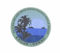 Kailua Sticker Malanai Cool Breeze