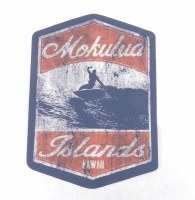Kailua Sticker Badge Mokulua Islands Lanikai