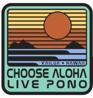 Choose Aloha Sticker 1