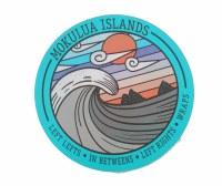 Kailua Sticker Mokulua Surfbreaks Lanikai