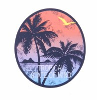 Kailua Sticker Tropical State of Mind Mokulua Lanikai