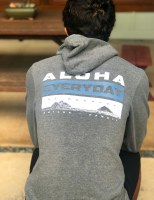 Aloha Everyday Zip Hoody