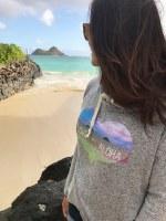 Kailua Tee Love+Aloha Hoody Women's