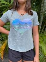 Love Aloha Vnk Slub Moss SM