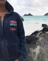Kailua Tee Badge Hoodie Women's