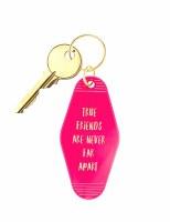Retro Keychain True Friends