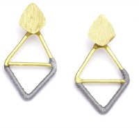 Fair Trade Earring Kaia Diamond Grey