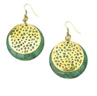 Fair Trade Earring Tara Medallion
