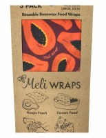 Meli Wrap Purple Papaya 3pk