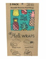 Meli Wrap Pineapple 3pk
