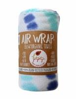 Organic Cotton Towel Blue Aqua