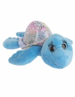 Plush Shimmer Turtle Blue