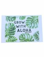 Postcard Grow Aloha