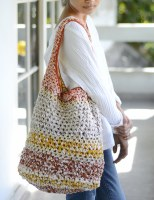 Sunshine Crocheted Beach Bag