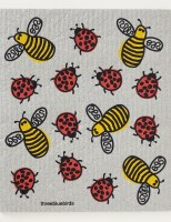 Swedish Dishcloth Bees & Bugs
