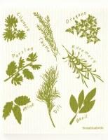 Swedish Dishcloth Herbs