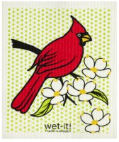 Swedish Cloth Red Cardinal